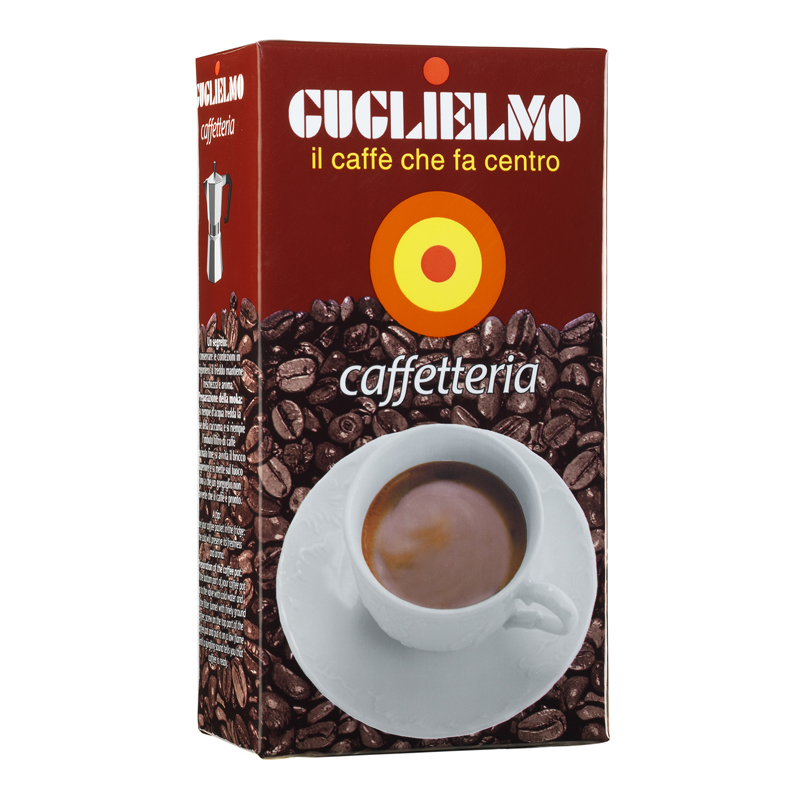Caffetteria 250 gr Ground (5Kilos-20Pieces)