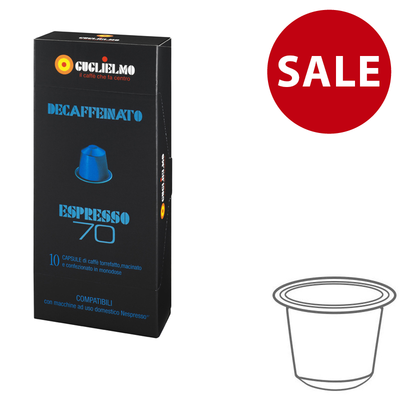 Espresso70 Decaffeinated Capsules 120 pieces