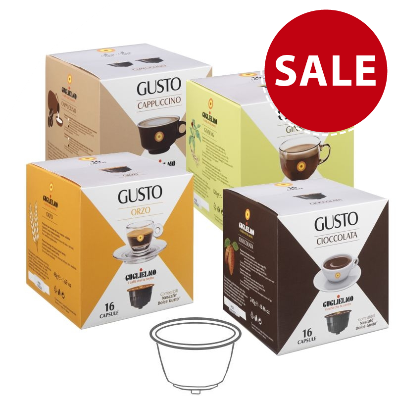 Gusto Drinks Capsules 192 Pieces