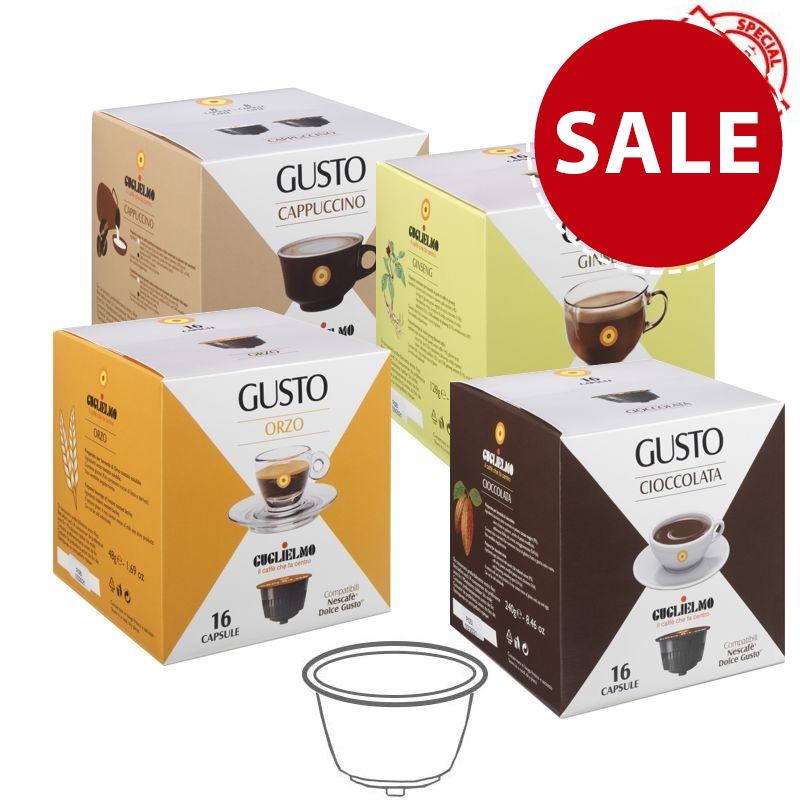 Gusto Tasting Pack Drinks Capsules 192 Pieces