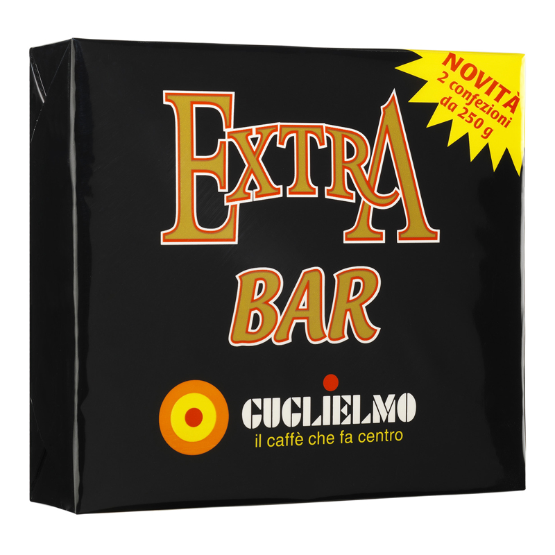 Extra Bar Bipack 2x250 gr Ground (5Kilos-10Pieces)