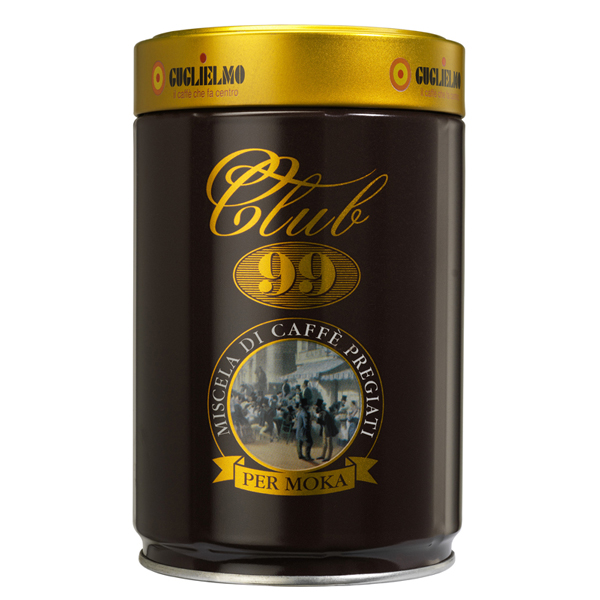 Club 99 Tin 250 gr Ground (3kg-12pieces) - SOLD OUT